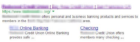 Google Listing Sample